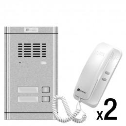Zestaw domofonowy 2-rodzinny Genway WL-02NE-2