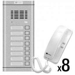 Zestaw domofonowy 8-rodzinny Genway WL-02NE-8