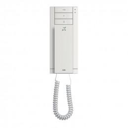 Domofony - unifon 3-przyciskowy z pętlą indukcyjną (M22003-W)