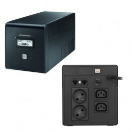 UPS POWER WALKER 1000W 2x230V  RJ11 2XIEC LCD USB
