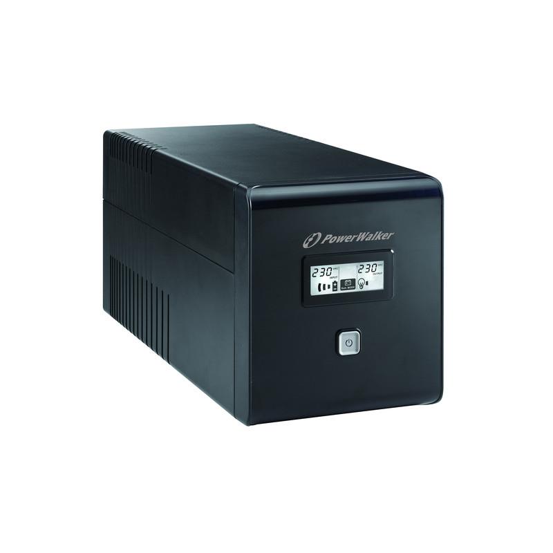UPS POWER WALKER 1500W 2x230V  RJ11 2XIEC LCD USB