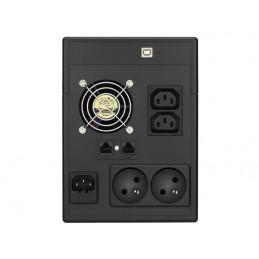 UPS POWER WALKER 2000W 2x230V  RJ11 2XIEC LCD USB