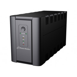 UPS POWER WALKER LINE-INTERACTIVE 1200VA 2X 230V PL + 2X IEC OUT, RJ11/RJ45 IN/OUT, USB