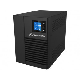 UPS POWER WALKER LINE-INTERACTIVE 750VA 4X 230V IEC OUT, RJ45 IN/OUT, USB HID, LCD, CZYSTA FALA