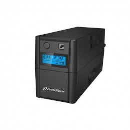 UPS POWER WALKER 650VA 2x230V PL OUT