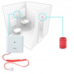 KALER system przywoławczy - zestaw do WC dla osób niepełnosprawnych