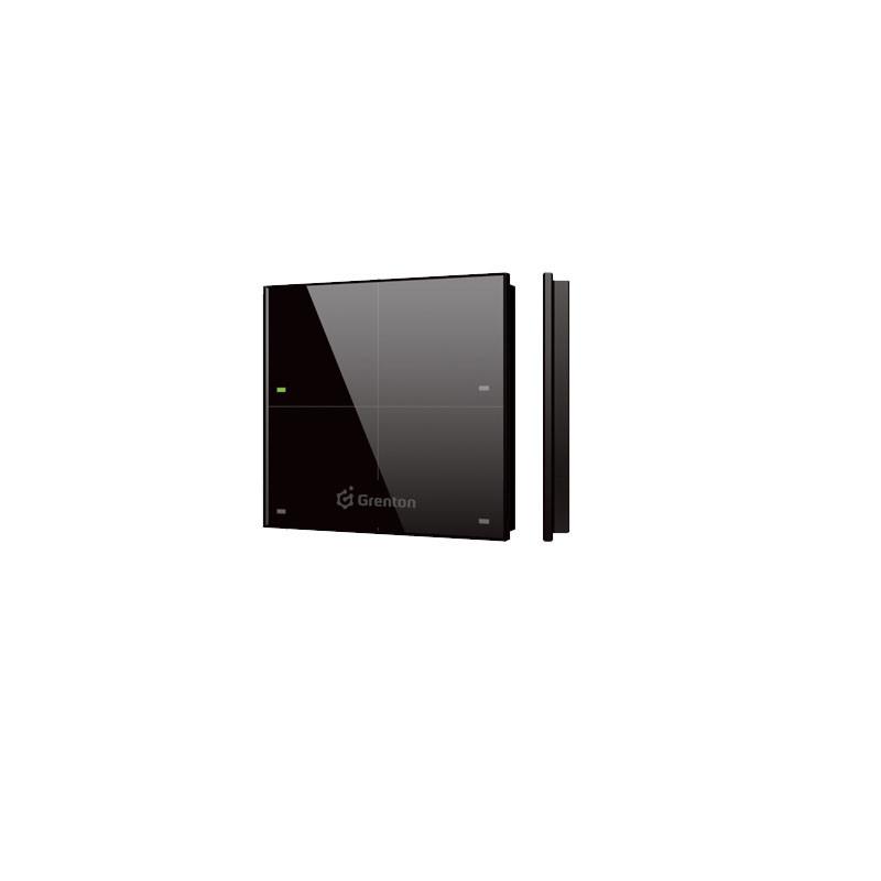 Grenton Panel natynkowy szklany 4-klawiszowy Touch Panel +