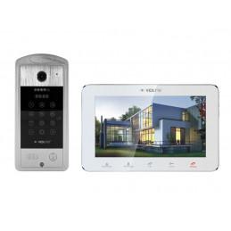 Wideodomofon WiFI ViDiLine z podglądem na telefonie VIDI-MVDP-7SL-W
