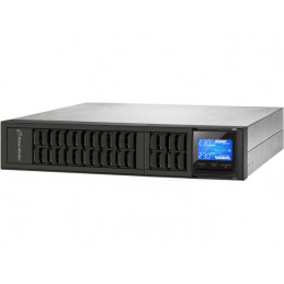 "UPS POWERWALKER ON-LINE 3000VA 4X IEC + TERMINAL OUT, USB/RS-232, LCD, RACK 19""/TOWER"