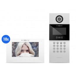 Wideodomofon IP 10-rodzinny VidiLine C5-IP