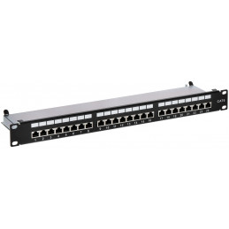 PATCH PANEL RJ-45 PP-24/RJ6-C/FTP