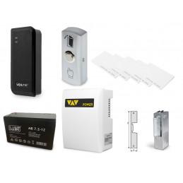 Zestaw kontrola dostępu czytnik kart z zasilaniem awaryjnym VIDI-AC-1C