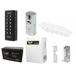 Zestaw kontrola dostępu zamek szyfrowy czytnik kart z zasilaniem awaryjnym VIDI-AC-2CS