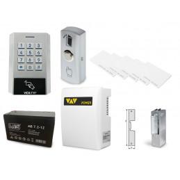 Zestaw kontrola dostępu zamek szyfrowy czytnik kart z zasilaniem awaryjnym VIDI-AC-3CSW