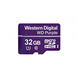 Karta pamięci WD microSDHC Purple 32GB WDD032G1P0A