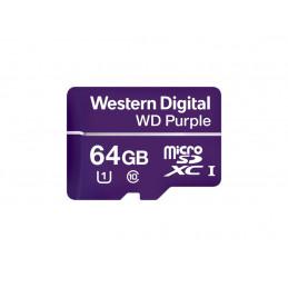 Karta pamięci WD Purple 64GB WDD064G1P0A microSDHC UHS-1 Class10