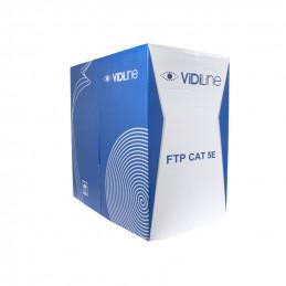 KABEL SKRĘTKA FTP CAT 5E DRUT CCA HQ - 305m