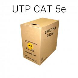KABEL SKRĘTKA CAT 5e - 305 METRÓW  UTP/K5/305M/MTC