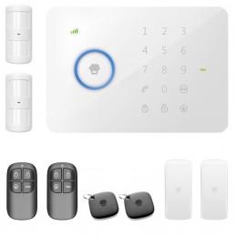 Alarm bezprzewodowy Chuango G5 GSM zestaw 4 czujników