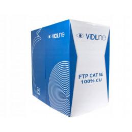 KABEL SKRĘTKA FTP CAT 5E DRUT CU 24AWG - 305m