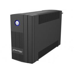 UPS POWERWALKER LINE-INTERACTIVE 650VA SB FR, 2X PL 230V, USB