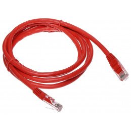 PATCHCORD RJ45/6/1.5-RED 1.5   m