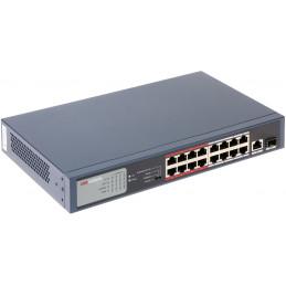 Switch PoE DS-3E0318P-E/M 18-PORTOWY +SFP HIKVISION
