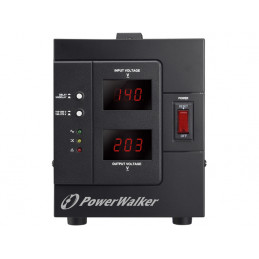 STABILIZATOR NAPIĘCIA AVR POWERWALKER 230V, 1500VA 2X PL OUT
