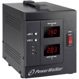 STABILIZATOR NAPIĘCIA AVR POWERWALKER 230V, 2000VA 2X PL OUT