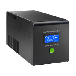 UPS POWERWALKER LINE-INTERACTIVE 750VA 4X IEC 230V, PURE SINE WAVE, RJ11/45 IN/OUT, USB, LCD
