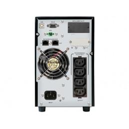 UPS POWERWALKER ON-LINE 1/1 FAZY 1500 VA CG PF1 USB/RS-232, 4 X IEC C13, EPO, WOLNOSTOJĄCY