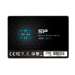 "Dysk SSD Silicon Power A55 256GB 2.5"" SATA3 (550/450) 3D NAND, 7mm"