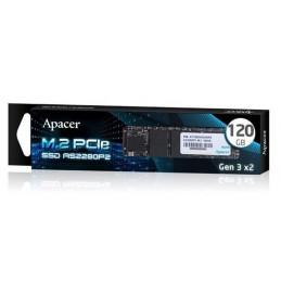 Dysk SSD Apacer AS2280P2 120GB M.2 PCIe Gen3 x2 2280 (1350/480 MB/s) 3D TLC
