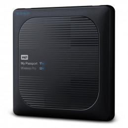 Dysk WD My Passport Wireless Pro 4TB WiFi AC, SD, USB 3.0, Black