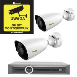 Gotowy do podłączenia zestaw 2x Kamera TC-C32JN + Rejestrator TC-R3120