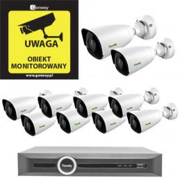 Gotowy do podłączenia zestaw 10x Kamera TC-C32JN + Rejestrator TC-R3120