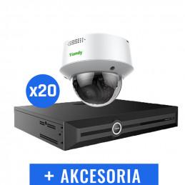 Monitoring wysypisko zestaw 20x TC-C35MQ + Rejestrator TC-R3440