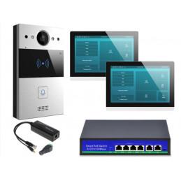 Akuvox zestaw jednorodzinny 2 monitory C317W