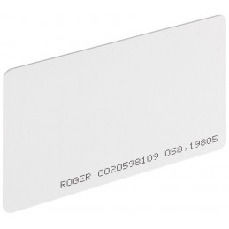 KARTA ZBLIŻENIOWA PVC MFC-2 ROGER