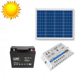Zasilanie Fotowoltaiczne Panel Solarny Zestaw 12V 50W