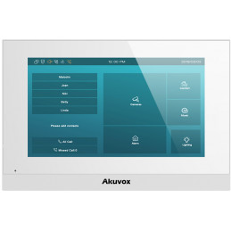 "AKUVOX C315S - Monitor 7"" Android Biały"