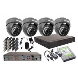 Zestaw BCS 4 kamery 4Mpx +...