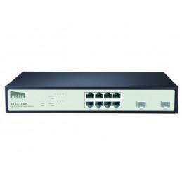 """SWITCH RACK 19"""" 8-PORT 1GB + 2 PORTY SFP 1GB/SFP, ZARZĄDZANY SNMP, NETIS ST3310GF"""