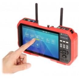 WIELOFUNKCYJNY TESTER CCTV AHD TVI CVI IP 8MPX 4K WIFI HDMI ST-W7-70/W