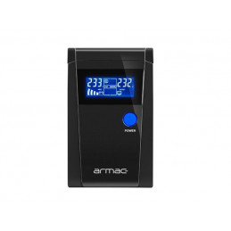 UPS ARMAC PURE SINE WAVE OFFICE LINE-INTERACTIVE 850VA LCD 2X 230V PL METALOWA OBUDOWA