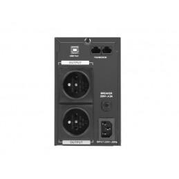 UPS ARMAC PURE SINE WAVE OFFICE LINE-INTERACTIVE 650VA LCD 2 230V PL METALOWA OBUDOWA