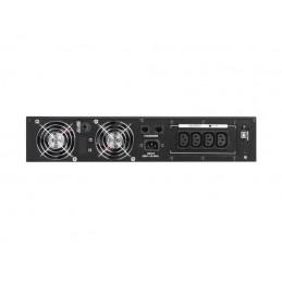 "UPS RACK 19"" ARMAC PURE SINE WAVE LINE-INTERACTIVE 1000VA LCD 4X 230V IEC METALOWA OBUDOWA"