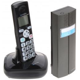 DOMOFON BEZPRZEWODOWY Z FUNKCJĄ TELEFONU D102B COMWEI