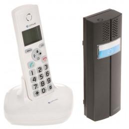 DOMOFON BEZPRZEWODOWY Z FUNKCJĄ TELEFONU D102W COMWEI