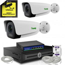 Zestaw 5Mpx 2 x TC-C35LS + Rejestrator TC-R3120